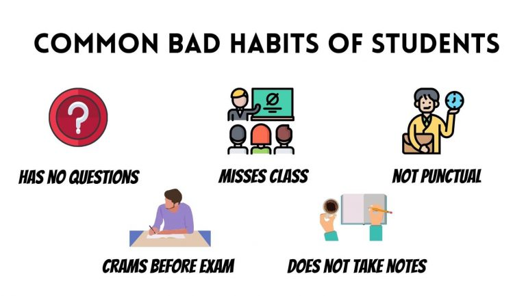 popular bad study habits for college