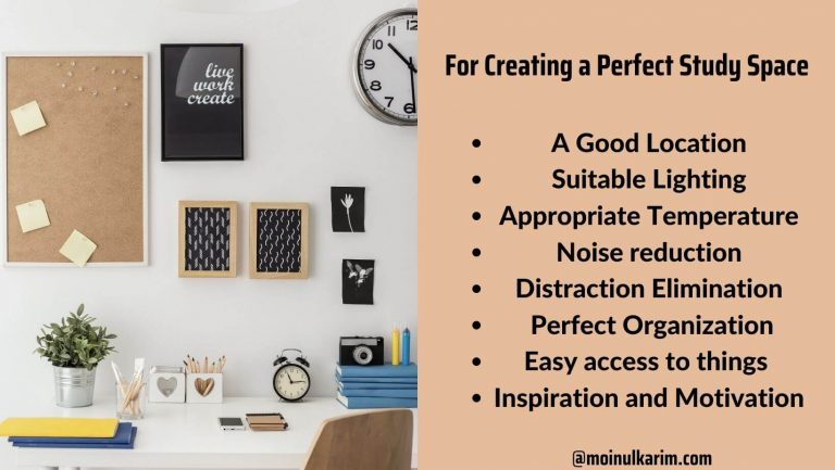 how to create a perfect study environment at home