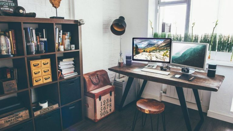 Arranged desk is essential for creating a perfect study environment at home
