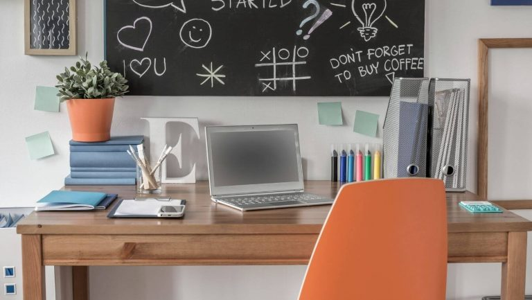 Study environment - tips for online classes