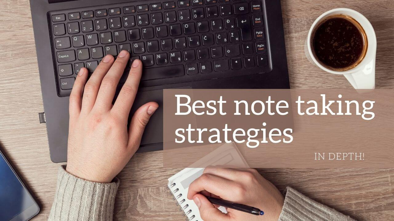 Note taking strategies for college