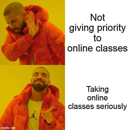 tips for online classes