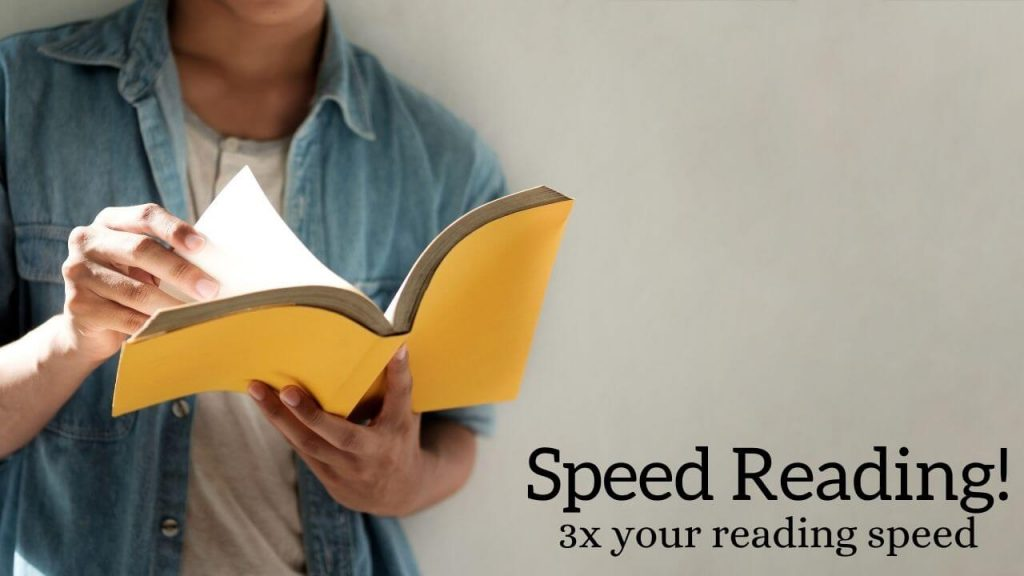 Speed reading - learn to boost your reading speed