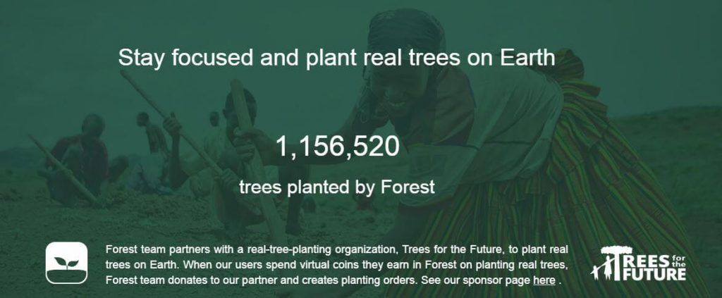 Forest app review : real organization