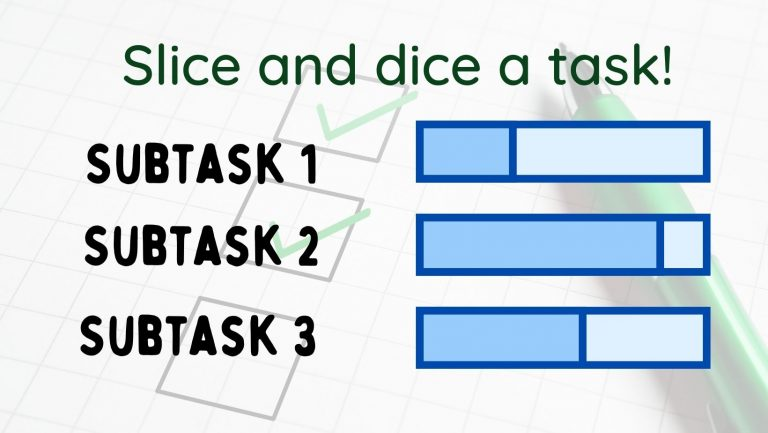 slice and dice the task- eat that frog review